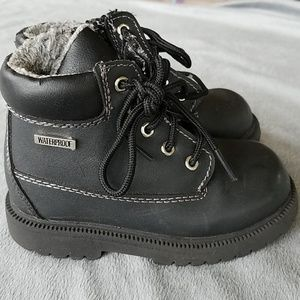 Toddler boys waterproof winter boot